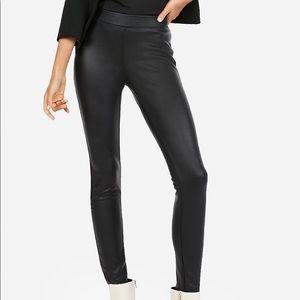 Vegan leather leggings NWT